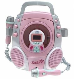 Barbie Stereo CD Karaoke Machine with Two Sing Along Micropones. Toddler Toys, Baby Toys, Toys For Boys, Kids Toys, Best Karaoke Machine, Little Girl Toys, Lol Dolls, Top Gifts, Gifts For Girls