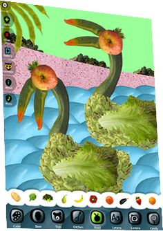 Interesting iPad app - could go along with a collage lesson about Giuseppe Arcimboldo