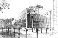 Philology faculty of University of Warsaw by Mast1