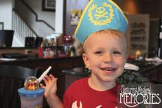 Craft Time! Making a Pirate Hat from Jake and the Neverland Pirates