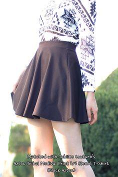 Jubilee Couture Mini Flare Skater Skirt Color- Navy #skaterskirt #flare #miniskirts #Swingskirt