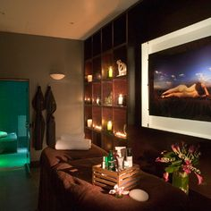 Treatment room in Malmaison Le Petit Spa, Birmingham - For this and more spa ideas visit Red Online.