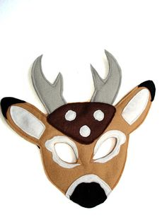 This DEER mask is designed for everyday fun, great for dress up and pretend play, ideal gift, perfect for themed birthday parties, party favor and