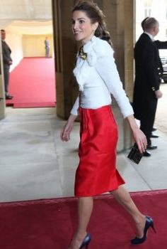 13 Women Rocking Power Dressing: Queen Rania of Jordan
