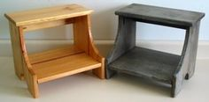 Many Step Stool Plans for Beginner Woodworkers