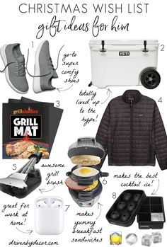 So many great Christmas wish list ideas for holiday gifts!