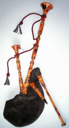 Dudelsack (German bagpipe)