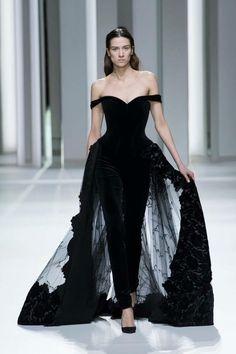 d380a934537d Kleider, 27. Januar, Geschäftsmode, Ysl, Paris Frankreich, Schwarz Weiß,