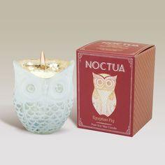 Noctua - Owl Candle - Egyptian Fig