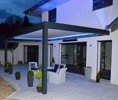 Pergola For Small Patio Outdoor Decor, Pergola Shade Diy, Modern Pergola, House With Porch, House Exterior, Patio Design