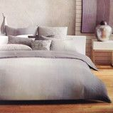 Hotel Collection Ombre Stripe Full Queen Duvet Cover Set 3 Pieces