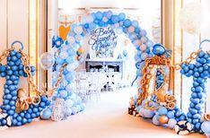 Anchor and chain from balloons Baby Shower Decorations For Boys, Kids Party Decorations, Boy Baby Shower Themes, Balloon Decorations, Baby Shower Cakes, Baby Boy Shower, Nautical Birthday Cakes, Birthday Table, Boy Birthday