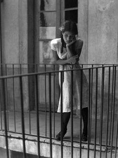 """Manuel Alvarez Bravo, """"The Daydream / El ensueño"""" circa 1970-1979. (shot in Mexico City)"""