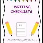 Start the year off right with Common Core writing and editing checklists.  Meets language standards 1 and 2 for grades K-5, and writing standards 1,2,3,7,&8 for grades 1-5.  ...