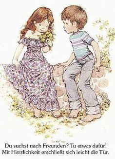 Sarah kay et son ami Sarah Key, Cute Images, Cute Pictures, Hobby Lobby Wall Art, Holly Hobbie, Australian Artists, Digi Stamps, Illustrations, Sweet Memories