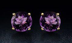image for 2.00 CTW Genuine Amethyst Earrings