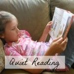 Summer Reading ~ Making Quiet Reading a Priority