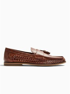 Tan Weave Morgan Tassel Loafers Mens Woven Loafers, Tassel Loafers, Topman Clothes, My Bags, Casual Shoes, Shopping Bag, Tassels, Asos, Weaving