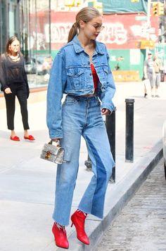 Skinny Jeans: 10 looks de Gigi Hadid que vão te convencer a deixar a sua de lado » Fashion Break
