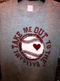 Take Me Out To the Ballgame Baseball Sports Tee.Need for My Son's Baseball Games! Baseball Quotes, Baseball Games, Sports Baseball, Baseball Mom, Baseball Shirts, Sports Shirts, Baseball Stuff, Softball Mom, Softball Stuff