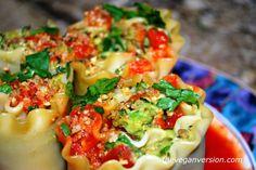 Avocatta Lasagna Rolls [Vegan] - One Green PlanetOne Green Planet Plant Based Whole Foods, Plant Based Eating, Plant Based Recipes, Veggie Recipes, Whole Food Recipes, Diet Recipes, Vegetarian Recipes, Cooking Recipes, Healthy Recipes