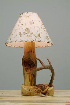 Antler Lamp!! I <3 Mine!!