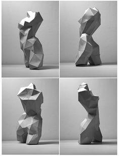 Stone Sculpture, Sculpture Clay, Abstract Sculpture, Concept Art Tutorial, Modelos 3d, Ceramics Projects, Anatomy Drawing, Welding Art, Blender 3d