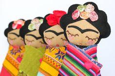 frida kahlo by Guadalupecreations on Etsy