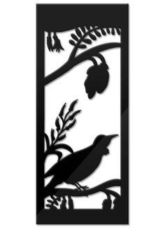 nzcanvaslounge - TUI PANEL Quilting Designs, Quilt Design, Maori Patterns, Fun Crafts, Arts And Crafts, Yard Sculptures, Create Canvas, Maori Art, Kiwiana