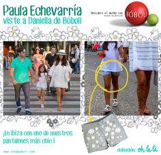 ¡Paula Echevarría escoge Bóboli para vestir a su pequeña Daniella en Ibiza! #SS15