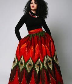 The ISI Maxi Skirt – Zuvaa