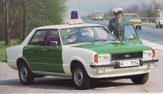 Germany - 1970's Ford Taunus polizei