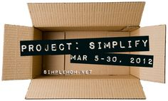 Project: Simplify 2012! on http://simplemom.net