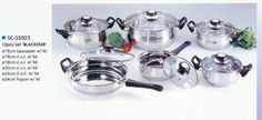 Blackstar 12 Piece Stainless Steel Cookware Set Features Clear Glass Lids and Black Handles SCSS003 -- Read more reviews of the product by visiting the link on the image.
