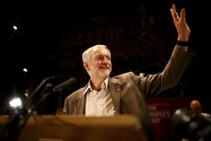 Jeremy Corbyn has addressed a massive rally in Manchester, where the Conservative party is holding its annual conference.