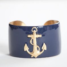 Susabelle Boutique GIVEAWAY! VISIT http://www.nauticalbynatureblog.com to win the Anchor Cuff by Wimberly Designs!