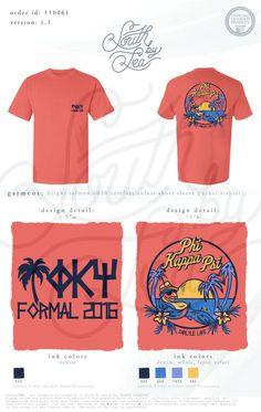 Phi Kappa Psi | Formal T-Shirt Design | Tropical T-Shirt Design | Beach Theme Formal | South by Sea | Greek Tee Shirts | Greek Tank Tops | Custom Apparel Design | Custom Greek Apparel | Sorority Tee Shirts | Sorority Tanks | Sorority Shirt Designs