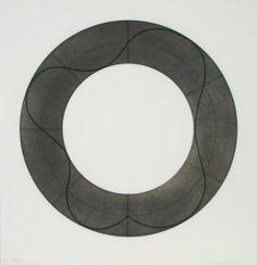 Robert Mangold - Ring Image B, 2008, screenprint, edition size...