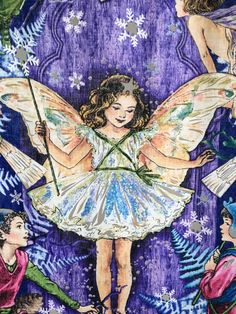 Toddlers Quilt, cotton, enchanted fairies by Michael Miller Fabric. by TheQuiltedCheese on Etsy Enchanted Fairies, Toddler Quilt, Michael Miller Fabric, Toddlers, Fairy, Quilts, Unique Jewelry, Handmade Gifts, Cotton