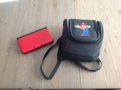 My 3DS bag. You can hold it on your back.