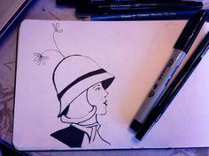 #illustration #drawing #moleskine #art