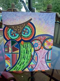 Painted these 2 owls for my Niece! Owls, Art Work, My Arts, Painting, Artwork, Work Of Art, Owl, Paintings, Draw