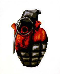 "Artist :Martin Watson  "" Heart Grenade"""