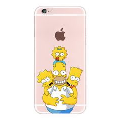 Aliexpress.com : Buy For iPhone 4S 5S 6S 6Plus 7Plus 7 Samsung Galaxy Cute Simpson s Funny Play Children Soft Silicon Transparent Printed Phone Case from Reliable case jewelry suppliers on World Design Phone Accessories
