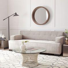 Shop For Bob Bella Ivory Tufted Velvet Sofa. Get Free Shipping At  Overstock.com. Furniture OutletOnline ...
