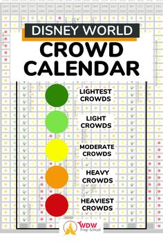 If you want to avoid the heavy crowds at Disney World this is the tool for you. Our FREE CROWD CALENDAR will show you the best (least crowded) and worst (most crowded) dates so you can choose the ideal dates for your family. Disney World Planning, Walt Disney World, Disney Vacations, Disney Trips, Disney World Crowd Calendar, World 2020, School Calendar, Dates, How To Plan