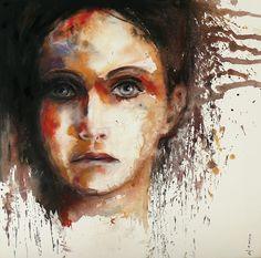Saatchi Online Artist: Dreya Novak; Oil, 2012, Painting Sometimes I feel like...