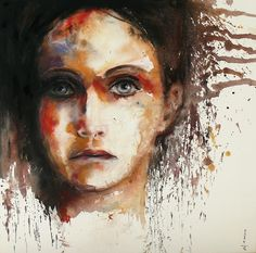 Saatchi Online Artist: Dreya Novak; Oil, 2012, Painting Sometimes I feel like...
