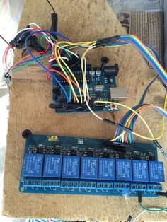 Check out http://arduinohq.com Watering Garden with GARD-A-WATER Arduino Project