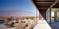 Prefab Home In The Californian Desert